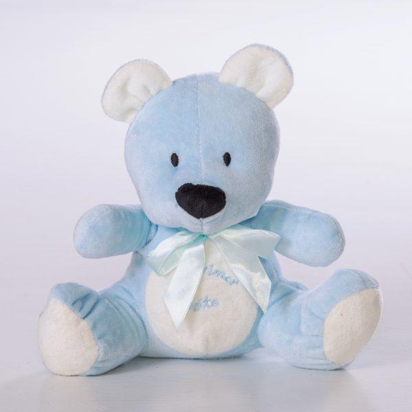 Osito bebe azul