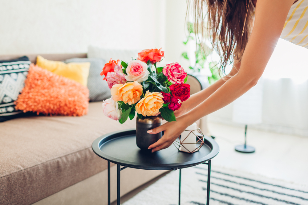 Cómo decorar con flores el interior de un hogar