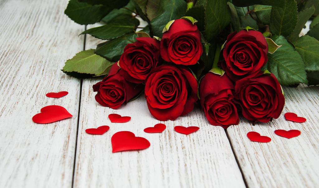 Por qué las rosas rojas son muestra de amor en San Valentín